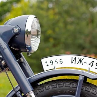 Покраска мотоцикла иж-49